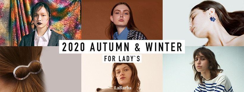 2020 AUTUMN & WINTER FOR LADY`S