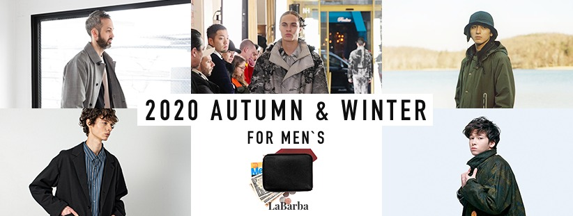 2020 AUTUMN & WINTER FOR MEN`S