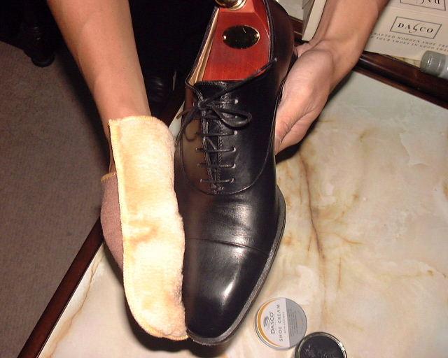 靴グローブクロス
