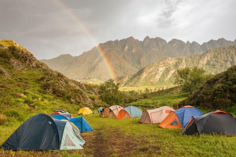 キャンプ楽しい