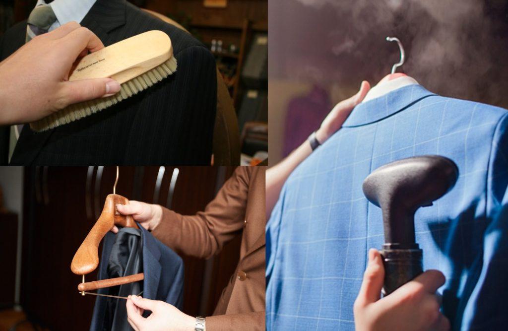 大切なスーツを長もちさせるお手入れ方法