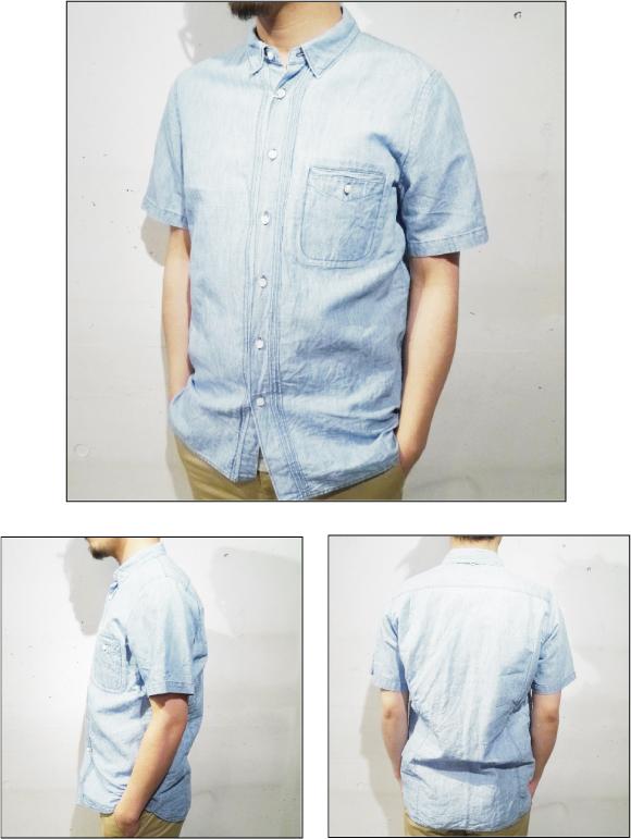 半袖シャツ 3面